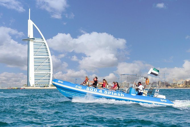 90 Minutes Speedboat Tour: Dubai Marina, Atlantis and Burj Al Arab