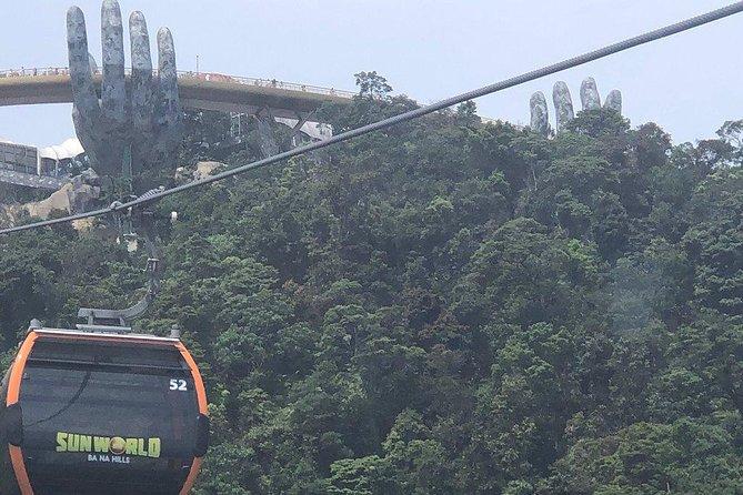 Marble Moutain - Golden Bridge - Ba Na Hill via Cable Car from Da Nang or Hoi an