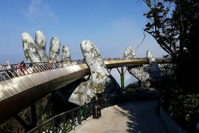 Marble Moutain - Golden Bridge - Ba Na Hill via Cable Car from Da Nang or Hoi an