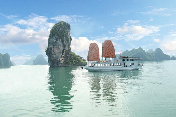 Ha Long Bay day Trip 6 hours cruise transfer by new highway