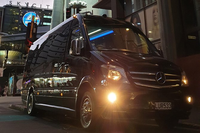 Auckland Airport Private Transfer - First Class EVM Mercedes 16-Pax Minibus