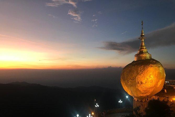 Yangon, Golden Rock, Yangon (Day Return)