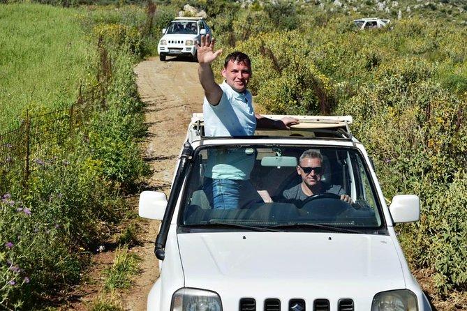 Crete 4x4 Safari Including Preveli Palm Beach and Kourtaliotiko Gorge