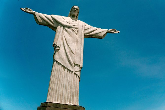 Christ the Redeemer and Copacabana Beach - from Cruise Terminal Pier Mauá