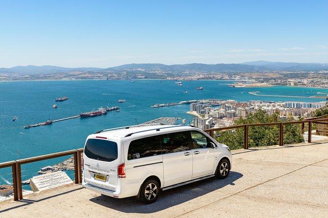 Enjoy the fantastic views of the Bay of Gibraltar