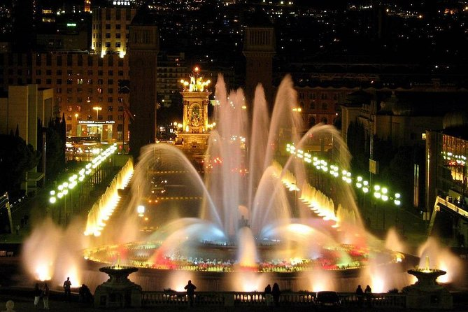 Barcelona Best Views: Old Town, Cable Car, Montjuic Castle & Magic Fountain Show