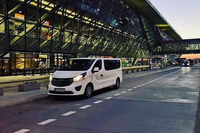 Krakow Airport Transfer Van Best Service