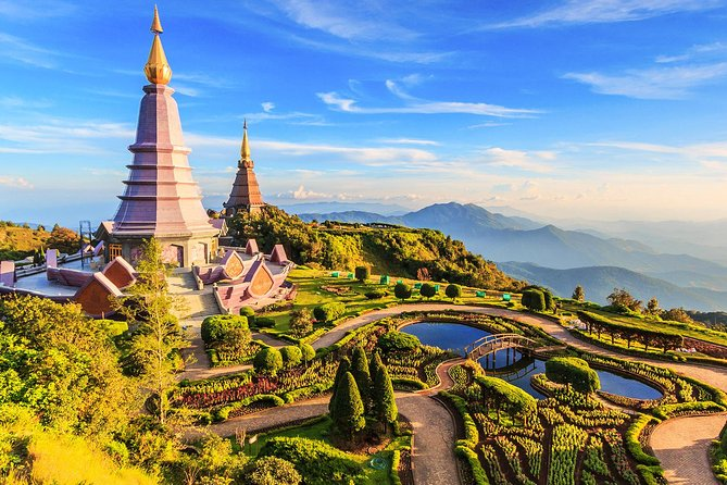 Doi Inthanon National Park day tour round trip from hotel in Chiang Mai