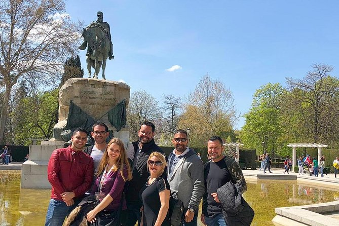 Madrid Royal Palace and Retiro Park Guided Tour with Optional Tapas Tasting