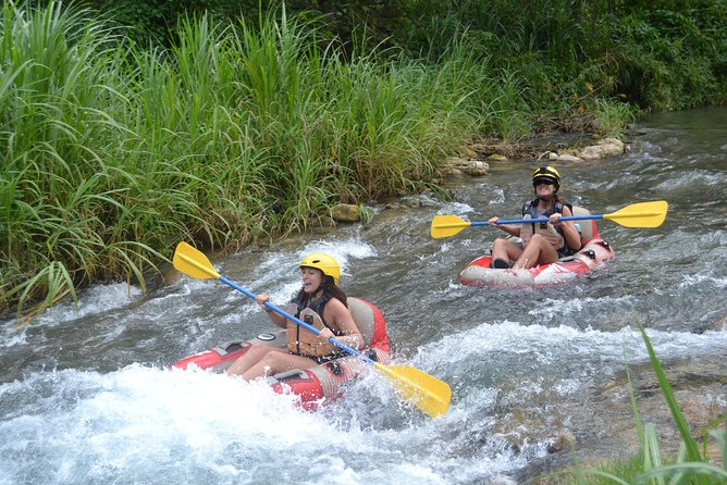 Falmouth Small Group 6-Hour Blue Hole Excursion and River Rapids with Lunch