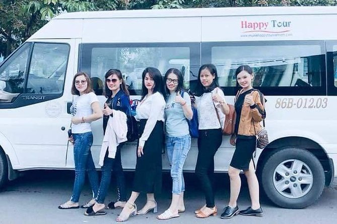 Transfer Mui Ne - Ho Chi Minh City or Airport by minivan | YOUR BEST CHOICE