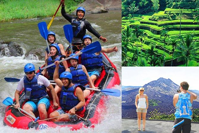 Ubud Rafting - Kintamani Volcano - Rice Terraces Tour