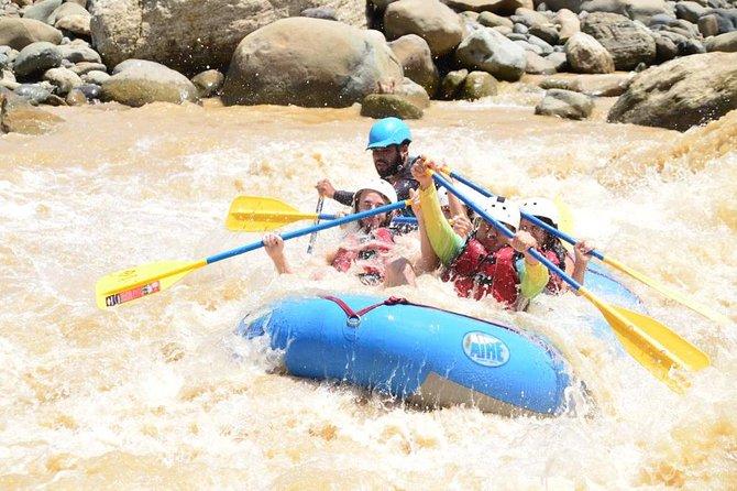 Naranjo River halfday Rafting Experience