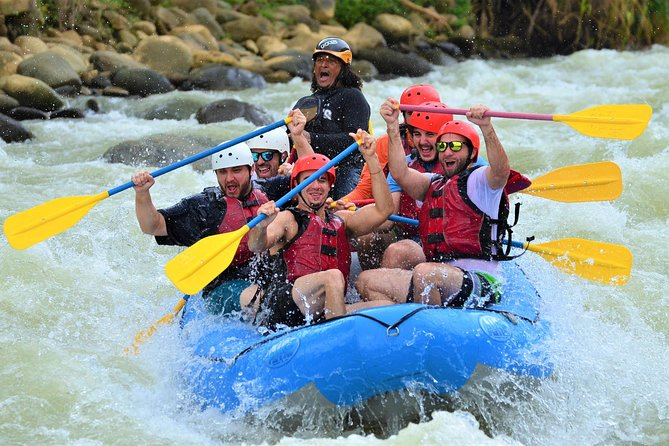 Full Day Rafting Experience Savegre River