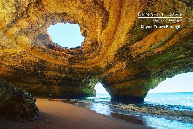 Alone in Benagil, perfect pictures Kayak tour