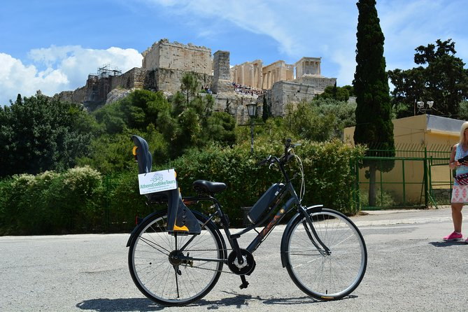 Athens Electric Bike Guided Tour with Food & Refreshments