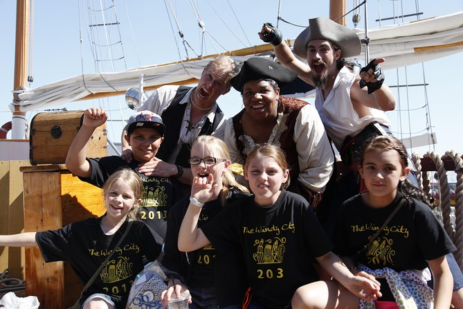 Real Pirates of the Inland Seas: Chicago Pirate-Themed Sailboat Tour