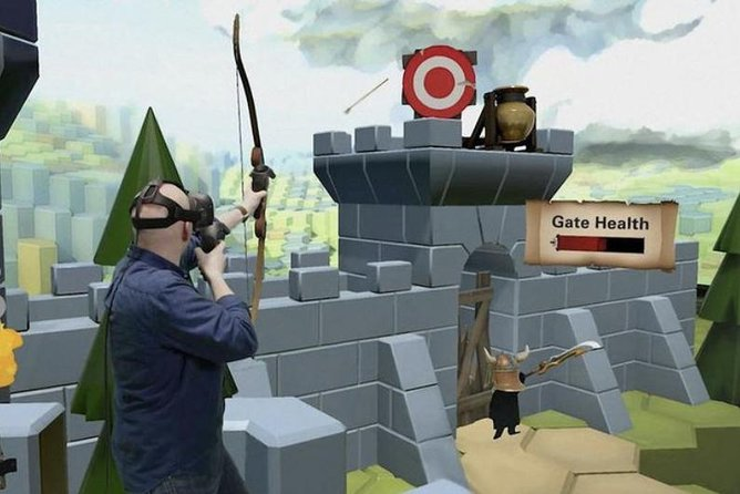 Immersive Virtual Reality Arcade Experience for 1 Hour (Includes Training)