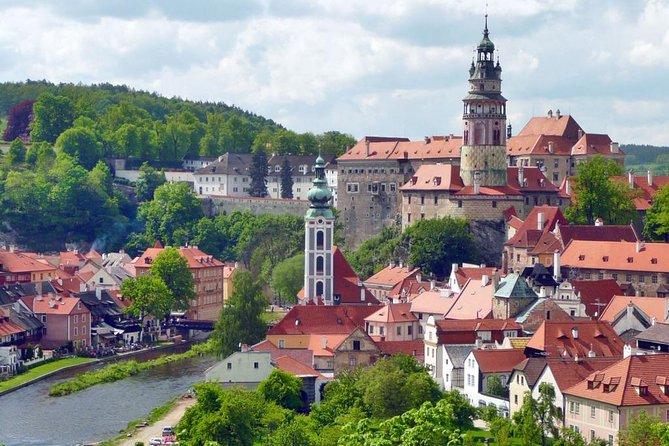 Excursión de un día a Cesky Krumlov desde Praga a Vilshofen