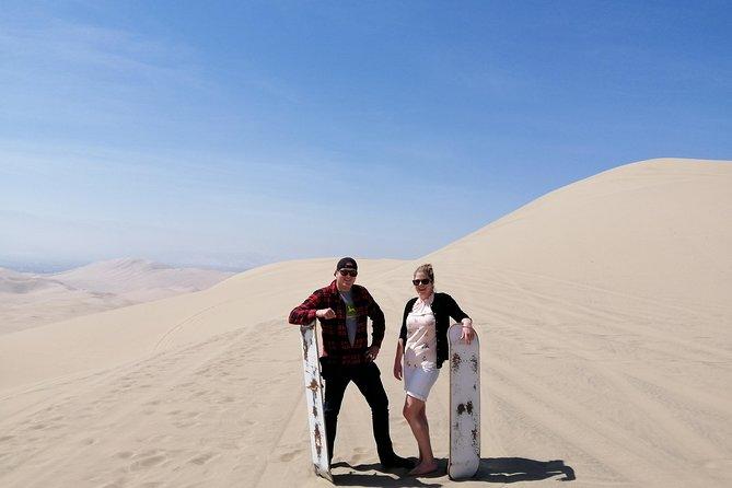 Ballestas Islands + Huacachina Oasis + Wine Tour (Unique Experience)