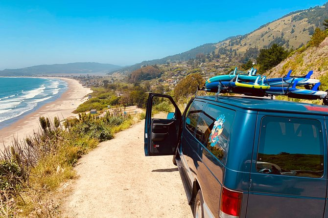SURF TRIP IN SAN FRANCISCO Stinson Beach - Bolinas // // RIDING THE BRIDGE