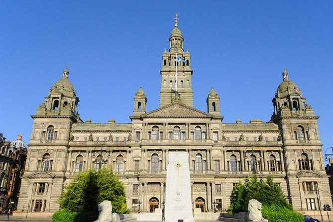 Edinburgh Airport to Glasgow City Chauffeured Hire Driver
