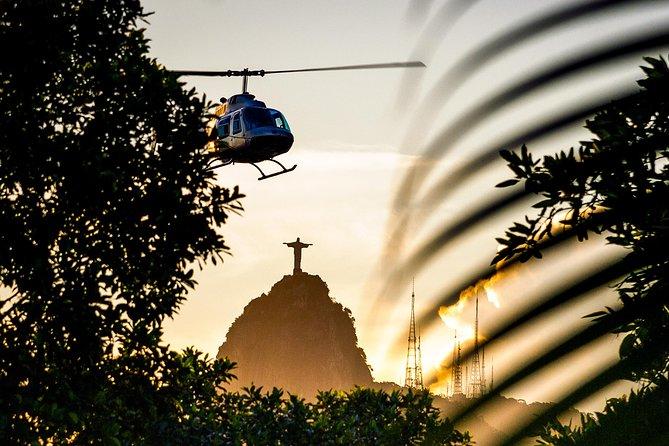 O Melhor Voo de Helicóptero do Rio - Pão de Açúcar e Cristo Redentor