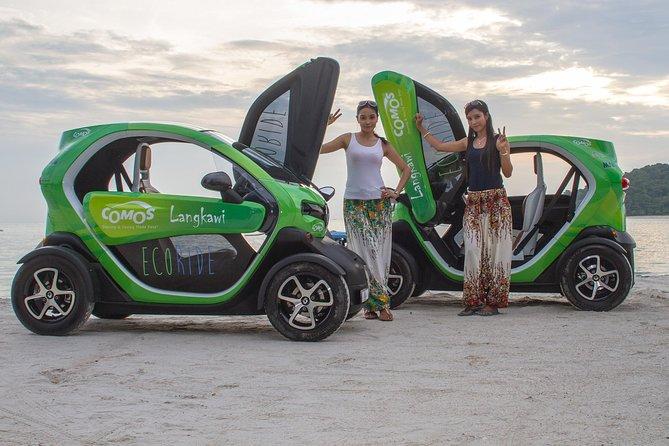 Nature Tour EcoRide Half Day with Twizy Electric Car: Pantai Cenang <-> Sky Cab