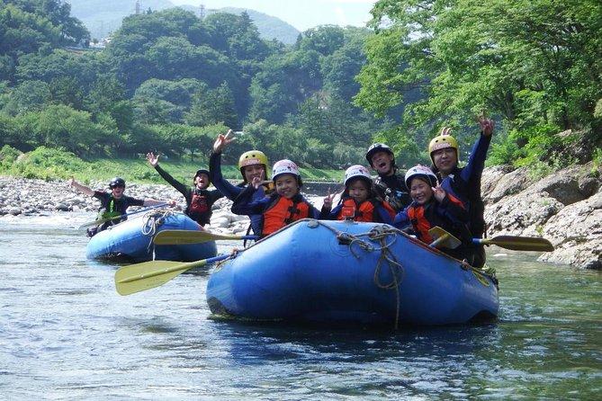 Rafting tour - Half Day Tour - at Minakami, Gunma