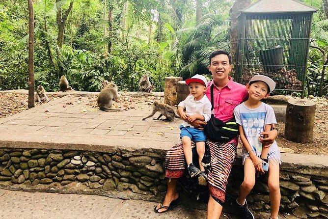 Ubud Monkey Tanah Lot Day Tour