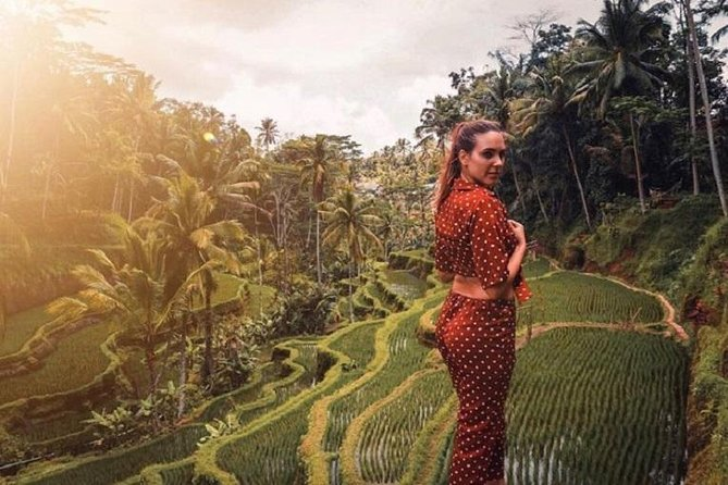 Full-Day Tour: White Water Rafting and Jungle Swing with Rice Terrace