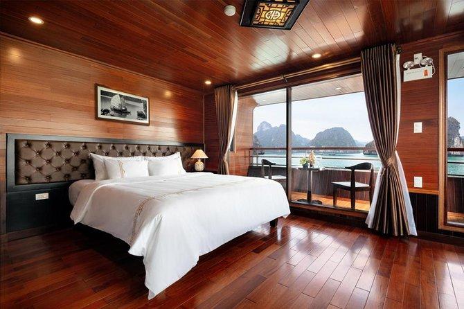 Lan Ha Bay - Ha Long Bay Overnight 5-star Cruise with Kayaking, Swimming,...