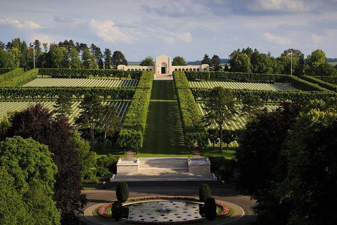 Verdun 1916 and Meuse Argonne 1918 including U.S War Cemetery in Romagne