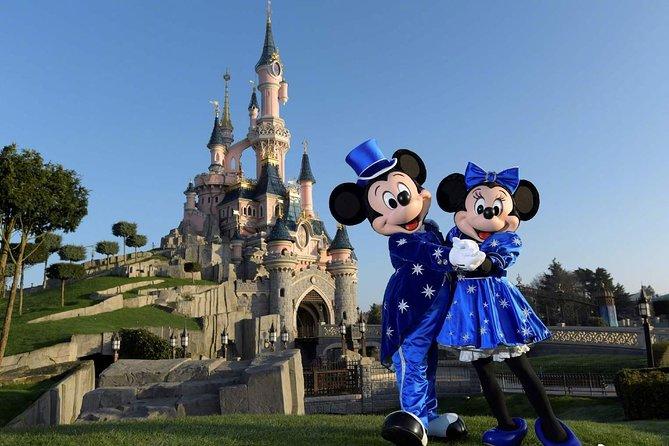 Private Airport Transfer Disneyland to Paris Charles de Gaulle (CDG)- Minivan