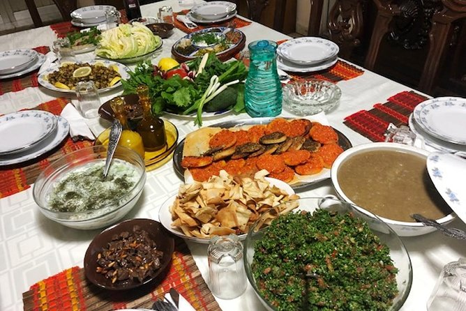 Private Lebanese Cooking Class in Beirut with Amal and Hotel Transfers