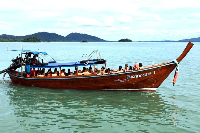 Lanta 4 Islands tour (Longtail boat)