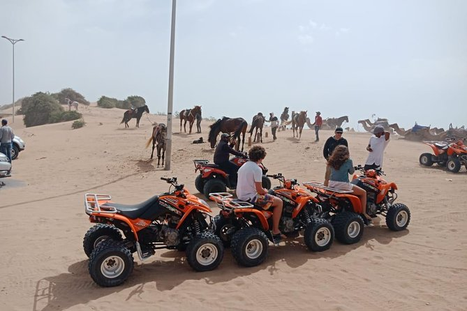 Excursion 1/2 day in Quad southern region of Essaouira