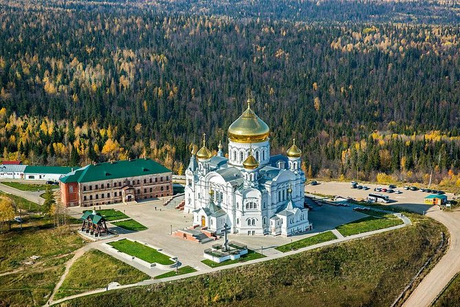 """Private Tour: Expand the history of the Belogorsk Monastery """"Ural Athos"""""""
