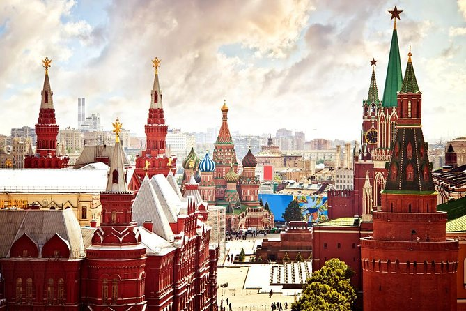 Moscow Kremlin and Red Square tour (Armoury optional)