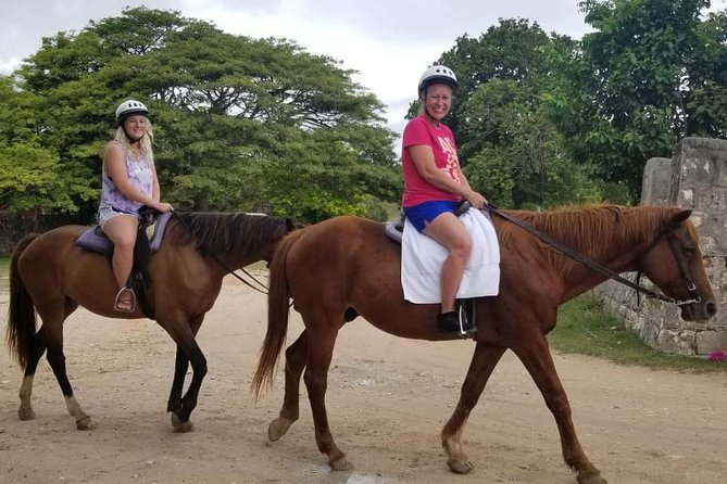 Blue Hole and Horseback Riding Adventure from Montego Bay