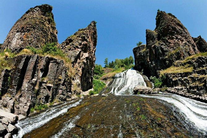 Private tour to Jermuk, waterfall