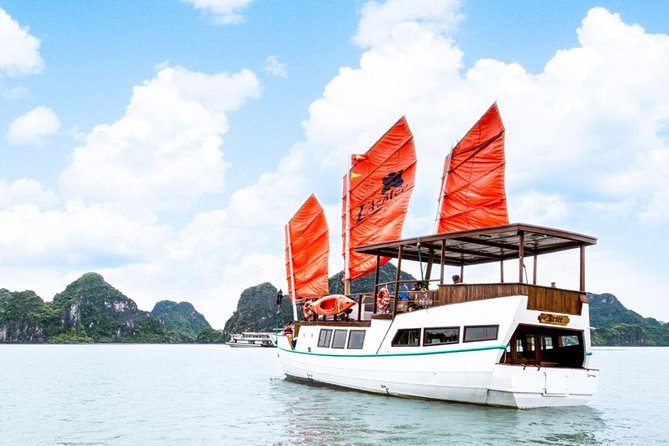 Unique Honeymoon Overnight Cruise In Halong Bay ( Private One Cabin)