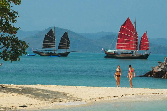 June Bahtra Cruise : Phang Nga Bay Full Day Tour from Phuket including Lunch