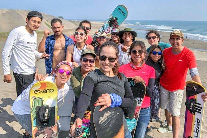 Sandboarding (Dunas de Chachalacas)