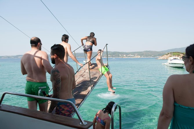 """Blue Lagoon"" Cruise for swimming & barbecue from Ouranoupolis photo 6"