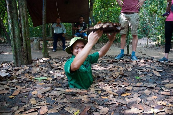 Speedboat to Visit Cu Chi Tunnels from Ho Chi Minh
