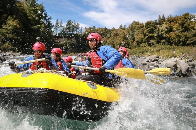Tongariro River White Water Rafting Adventure