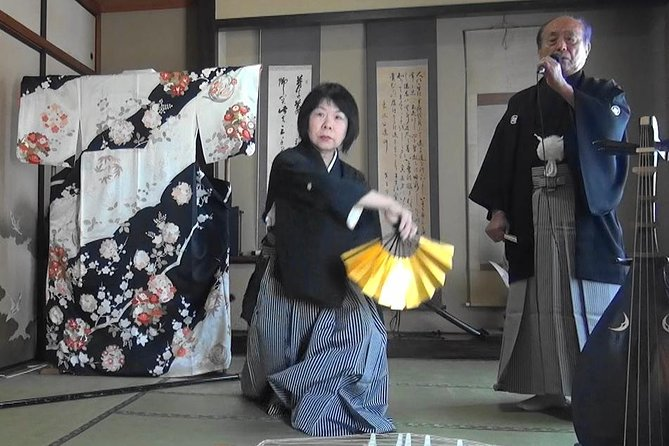 Samurai ・ samurai song and dance Traditional Japanese performing arts experience