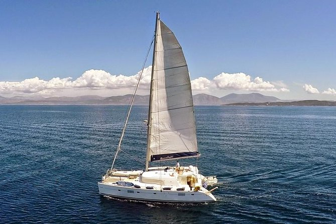Private Full Day Trip from Santorini on a Lagoon 500