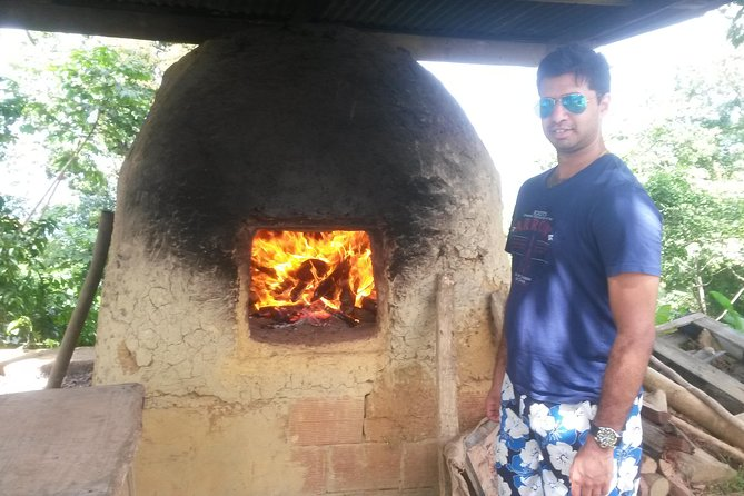 A traditional stone bake oven for fresh bread.